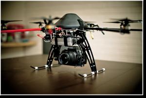 Oktocopter/Drohne